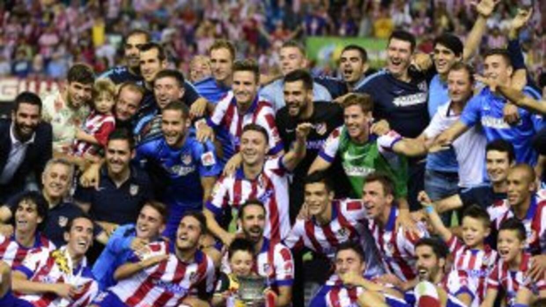 El Atlético consiguió su segunda Supercopa de España, quinto título de l...