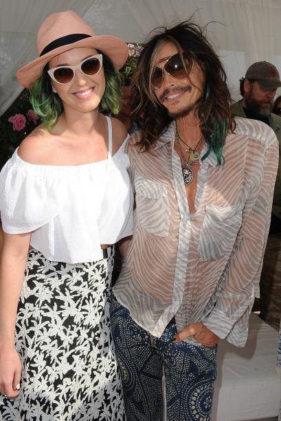 Katy Perry es una de las celebridades asiduas a Coachella y durante el p...