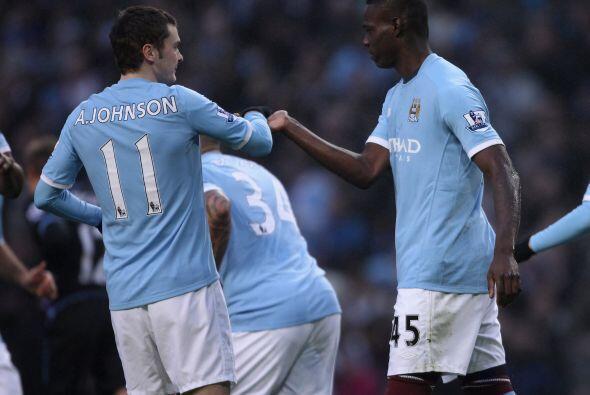 El otro equipo de Manchester, el City, había logrado una abultada victor...