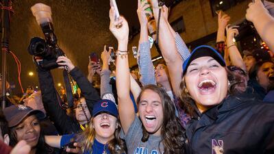 Así se vivió la celebración por los Cubs que tomó más de un siglo en llegar