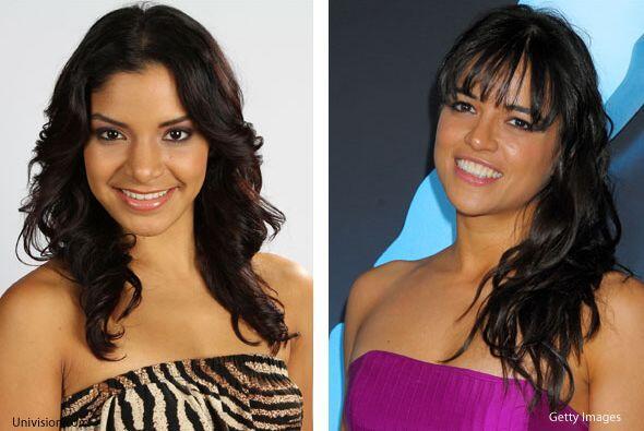 Shakira y Michelle Rodríguez son sexies, talentosas y ambas crecieron en...