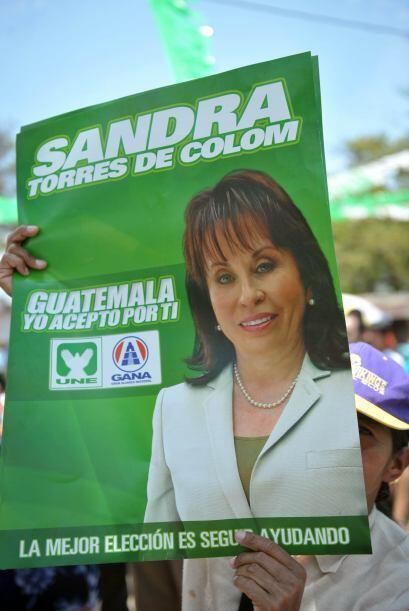 """Torres, de 52 años, afirmó hace unos días que """"el amor por Guatemala"""" y..."""