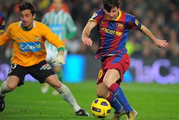 Messi continuó con su gran exhibición.
