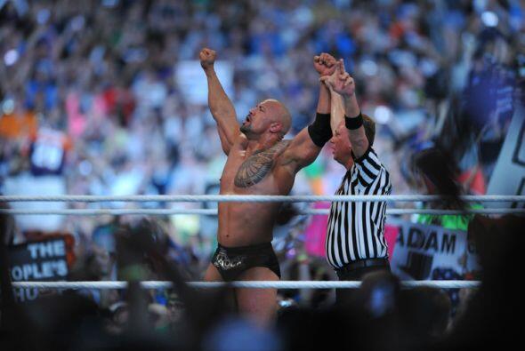 The Rock ganó una gran batalla que dejó contentos a todos.