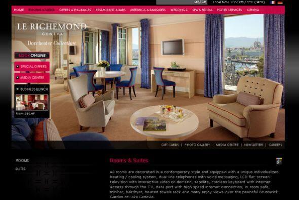 9. LE RICHEMOND- En sus más de 100 años de dar servicio, este hotel ha v...