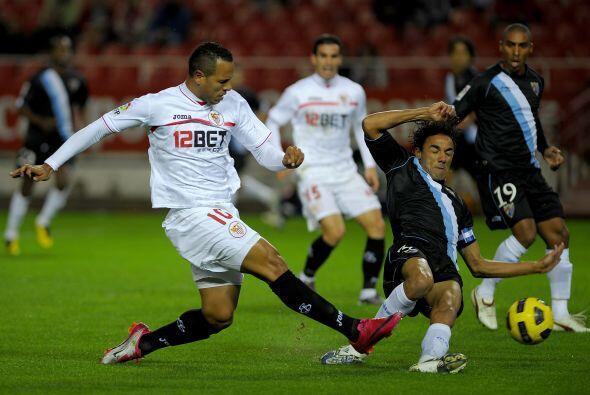 Otro duelo en el que hubo bastantes goles, también 8, fue el de Sevilla...