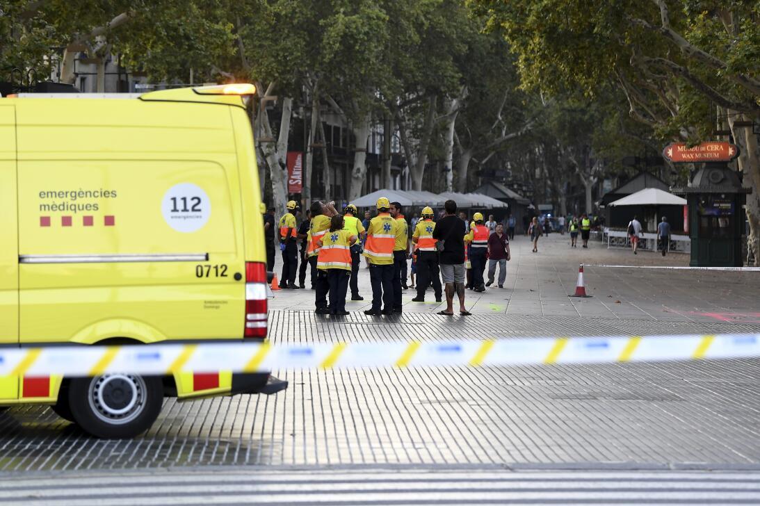 En fotos: El brutal ataque terrorista en la Rambla de Barcelona GettyIma...