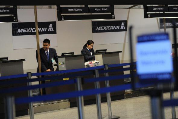 Tras 18 meses de paro de actividades, Mexicana de Aviación se encuentra...