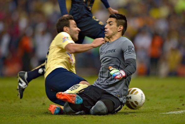 El Pumas vs.  América se ha convertido en uno de los duelos más intensos...