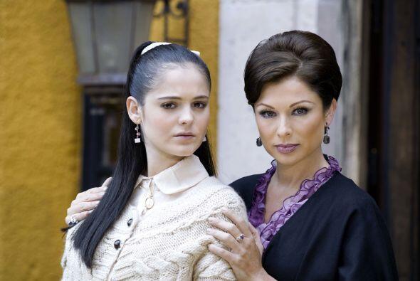 "Allisson Lozz protagonizó la telenovela ""En nombre del amor"" en 2008."