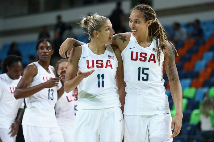 Estados Unidos ya está en semifinales tras doblegar a Japón. Diana Taura...
