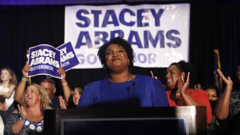 Stacey Abrams logró la nominación demócrata a la gobernación de Georgia