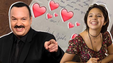 Ángela Aguilar escribió una carta a su papá con mot...