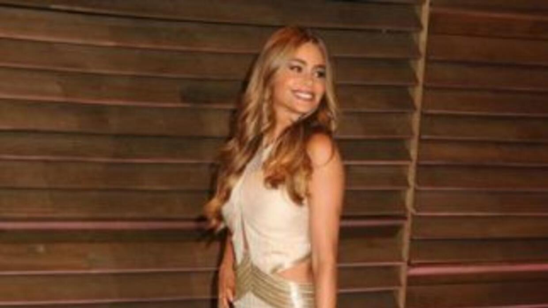 La atractiva Sofía Vergara no asistió a la multitudinaria ceremonia de l...