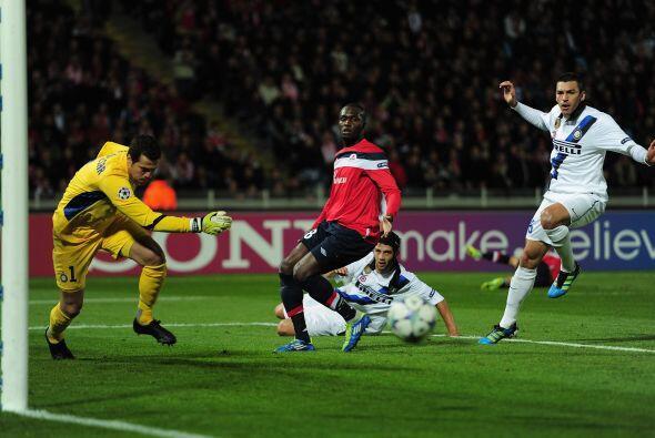 Lille pudo haber empatado pero no concretaron las chances claras.