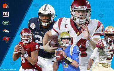 Este jueves comienza el Draft 2018 de la NFL donde varios equipos buscar...