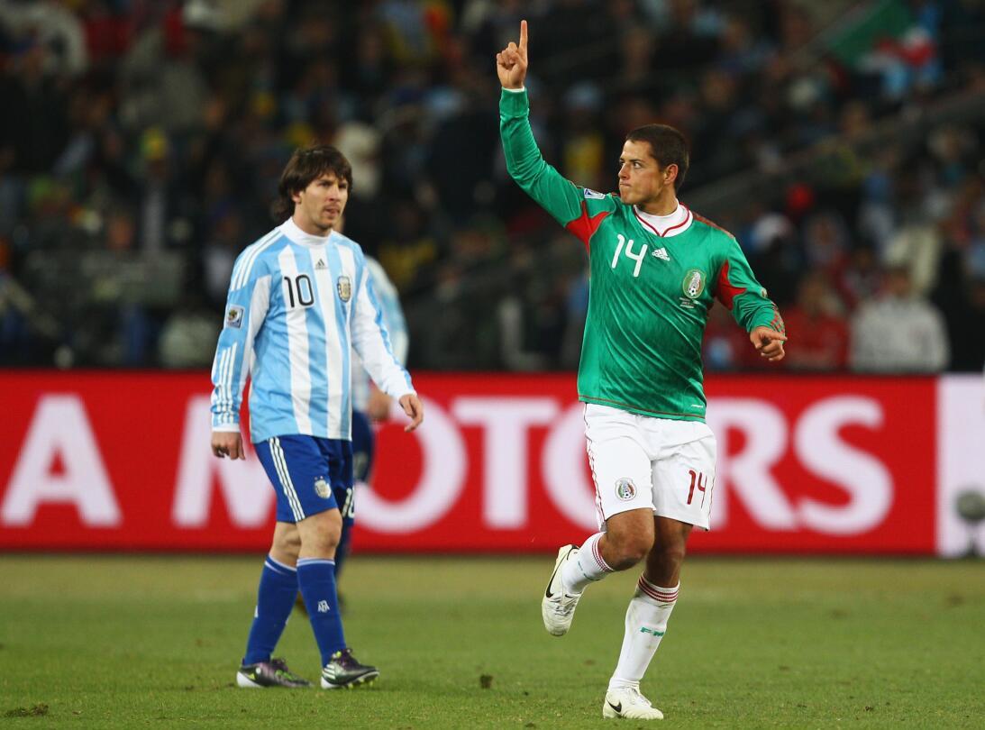 'Chicharito' Hernández el máximo goleador del 'Tri' GettyImages-10246628...
