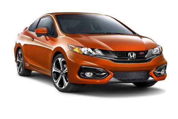 8- Honda Civic: Unidades vendidas: 27,452; Precio: $18,290 a $26,740; Co...