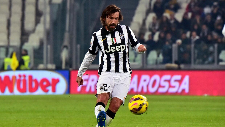 Pirlo durante la última temporada con Juventus.