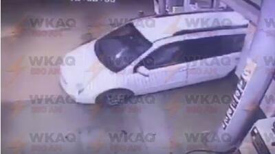 WKAQ-580 difundió el video del robo tipo película