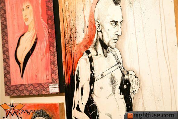 """Más de 80 artistas locales exhibieron sus obras en el horripilante """"Lamb..."""