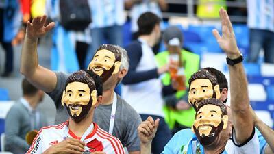 Argentina sigue con vida en Rusia 2018