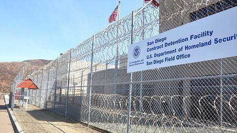 Centro de detención de ICE en Otay Mesa es operado por la empresa...