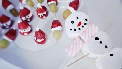 Deliciosos bocadillos navideños en minutos