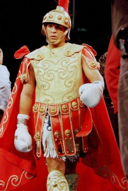 Su rápidez en el ring y su estilo extravagante lo hicieron &uacut...