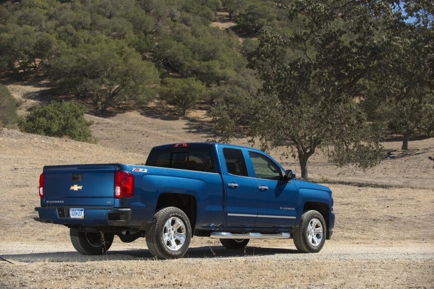 La Chevrolet Silverado está a la venta con variedad de cabinas, Regular...