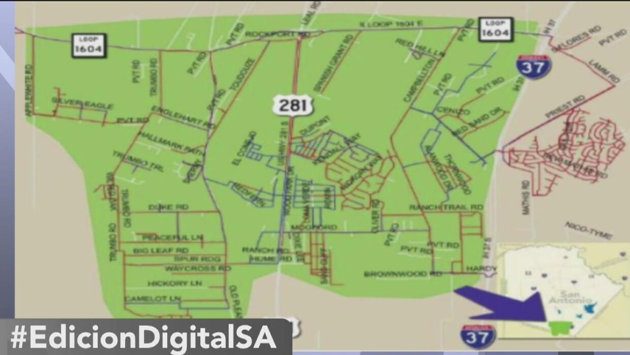 Más de 5,000 personas se quedan sin agua potable en el sur de San Antonio