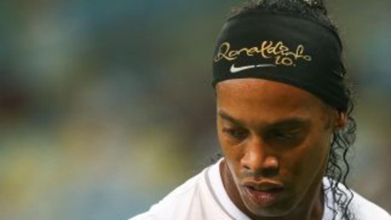 El futbolista brasileñoRonaldinho.