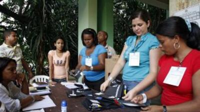 La Junta Central Electoral (JCE) de República Dominicana ofreció garantí...