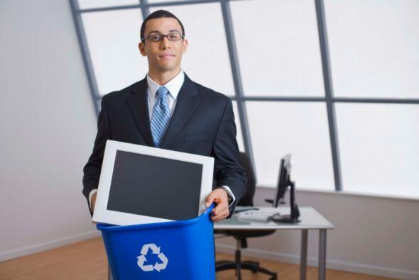 Cuando sea hora de reciclar algún aparato electrónico, es muy importante...