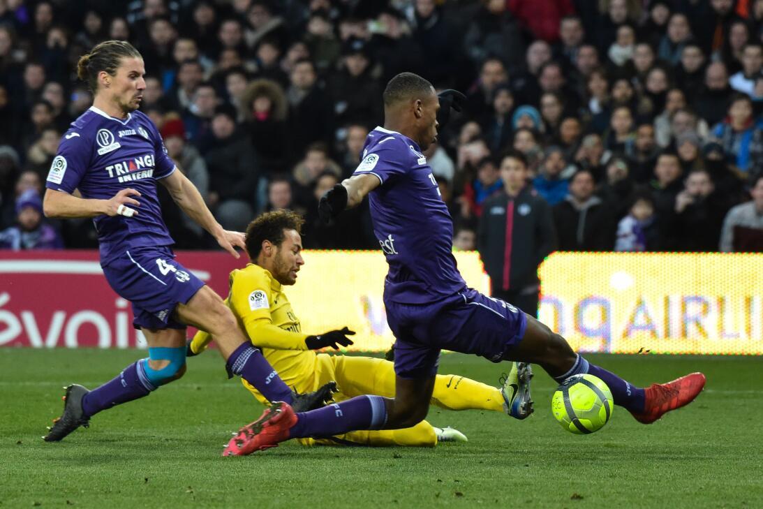 Neymar fue el protagonista con su tanto en el minuto 68.
