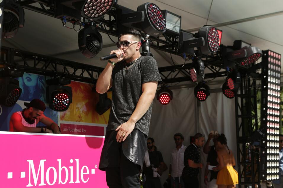 Así fue la competencia de DJ A PJ
