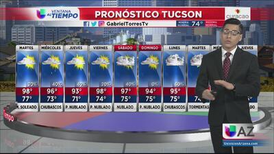 Semana lluviosa para Phoenix