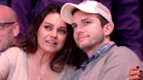 Ashton Kutcher y Mila Kunis esperan un varón