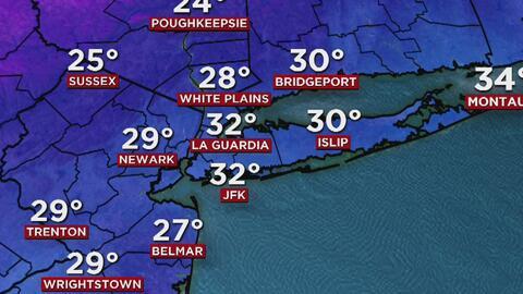 Jueves de frío ártico y temperaturas que se sentirán por debajo de los 1...