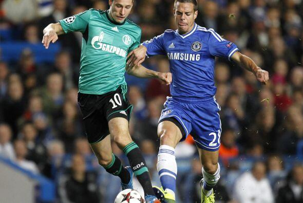 Chelsea recibió en Stamford Bridge al Schalke 04 como parte del grupo E.