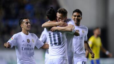 El Real Madrid quedaría fuera de Copa del Rey pese a ganar la ida en Cádiz.