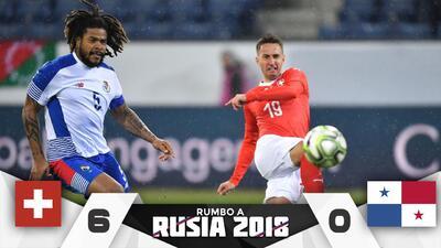 Pesadilla 'canalera': Suiza goleó 6-0 a Panamá y despierta miedos con miras al Mundial