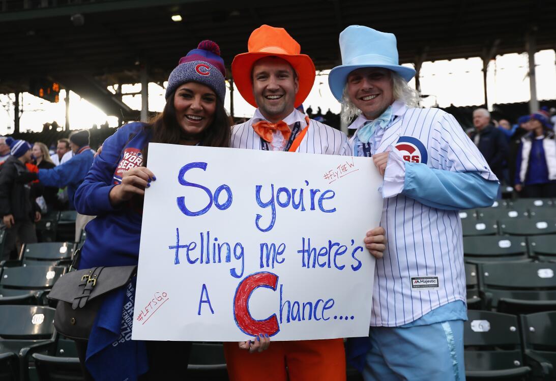 La fe inacabable de los fanáticos de Chicago Cubs  GettyImages-619306960...