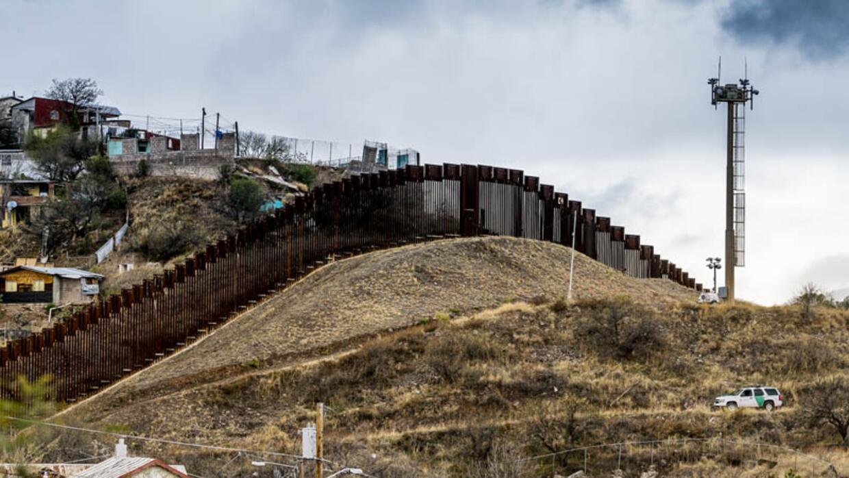La frontera entre Estados Unidos y México.