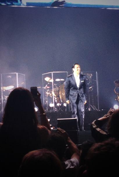 Alberto estuvo junto a su esposa Fay en el concierto de Alejandro Fernan...