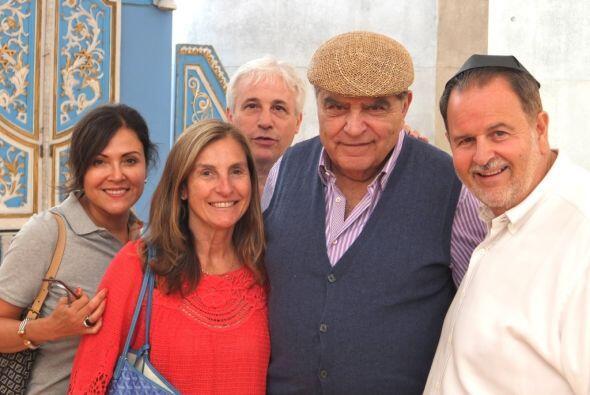 La pareja se llevó una grata sorpresa al encontrarse a Don Francisco en...