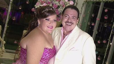 La hija de Julio Preciado tuvo su fiesta de Quinceañera