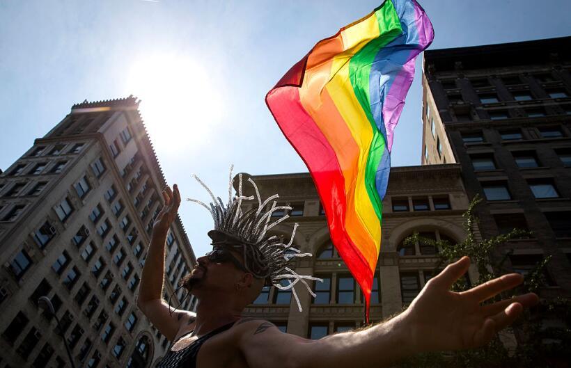 El Desfile de Orgullo Gay regresa este domingo a las calles neoyorquinas...