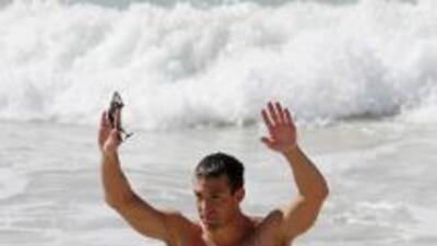 El nadador de 26 años competía en la Copa Mundial a 10 kilómetros en Fuj...