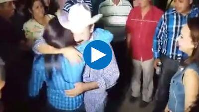 Hilario Ramírez Villanueva 'Layín' besó en la boca a jovencita